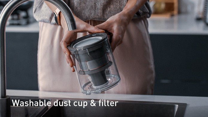 Washable dust cup & filter