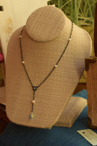 """Teardrop of Peace"" Necklace"
