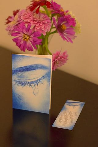 """Tears of Love"" Card and Bookmark Set"
