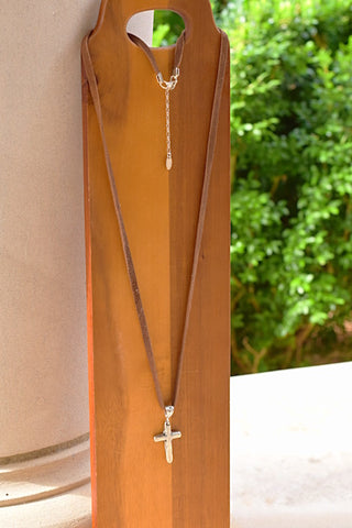 """Grace Cross"" Necklace"