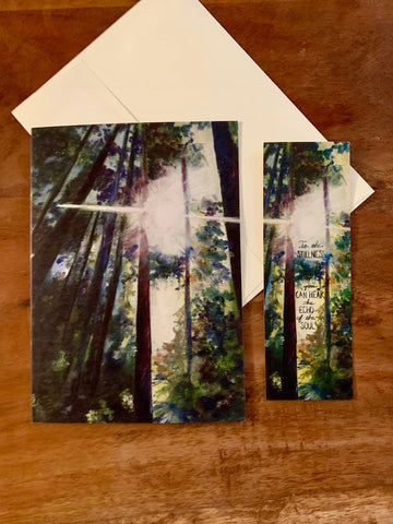 "The ""Journey"" Card and Bookmark Set"
