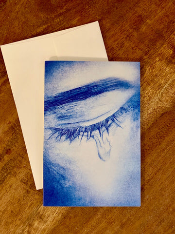 """Tears of Love"" Card"
