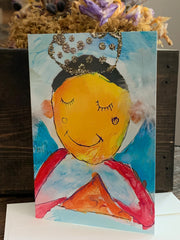 "5""x7"" ""Sweet Little Soul"" Bereavement Card for Baby Loss"