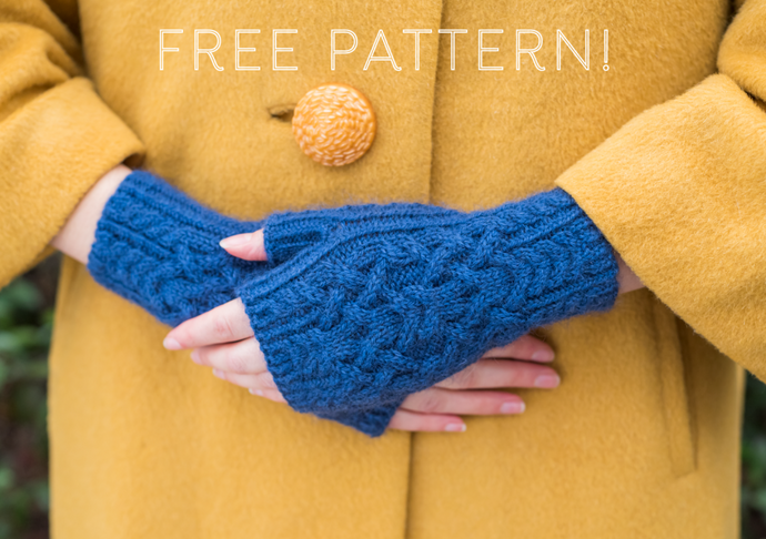 Free Pattern: Homeward Bound Mitts