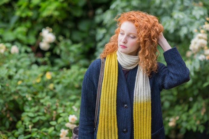 Free Pattern: Hortus Scarf by Emma Price