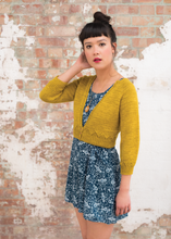 Load image into Gallery viewer, Netherton Cardigan by Lydia Gluck, Pom Pom Quarterly Issue 1 (Summer 2013)