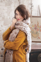 Load image into Gallery viewer, Vintage Bullion Scarf by Marie Segares, Pom Pom Quarterly Issue 7 (Winter 2014)