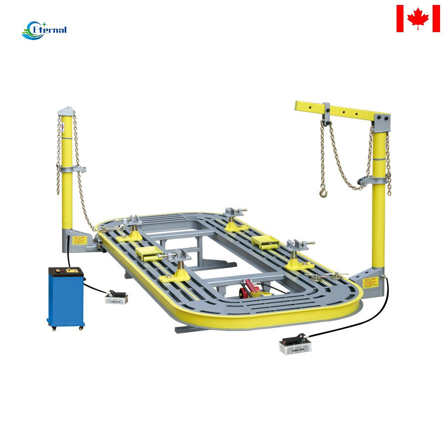 18.5FEET Auto body collision repair frame machine 3500kg 360 rotate