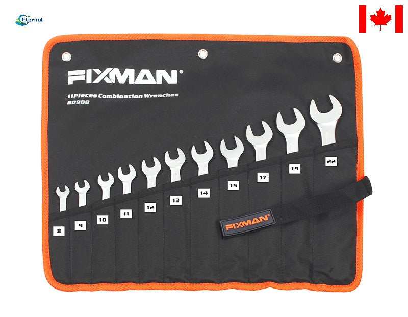 11Pcs Combination Wrench Set   8-9-10-11-12-13-14-15-17-19-22mm