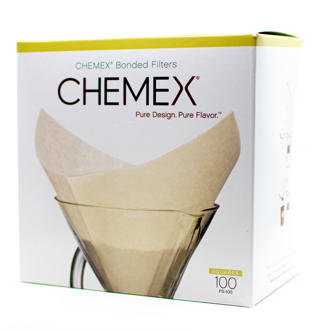 Chemex Filters - White, Pre-Folded Squares
