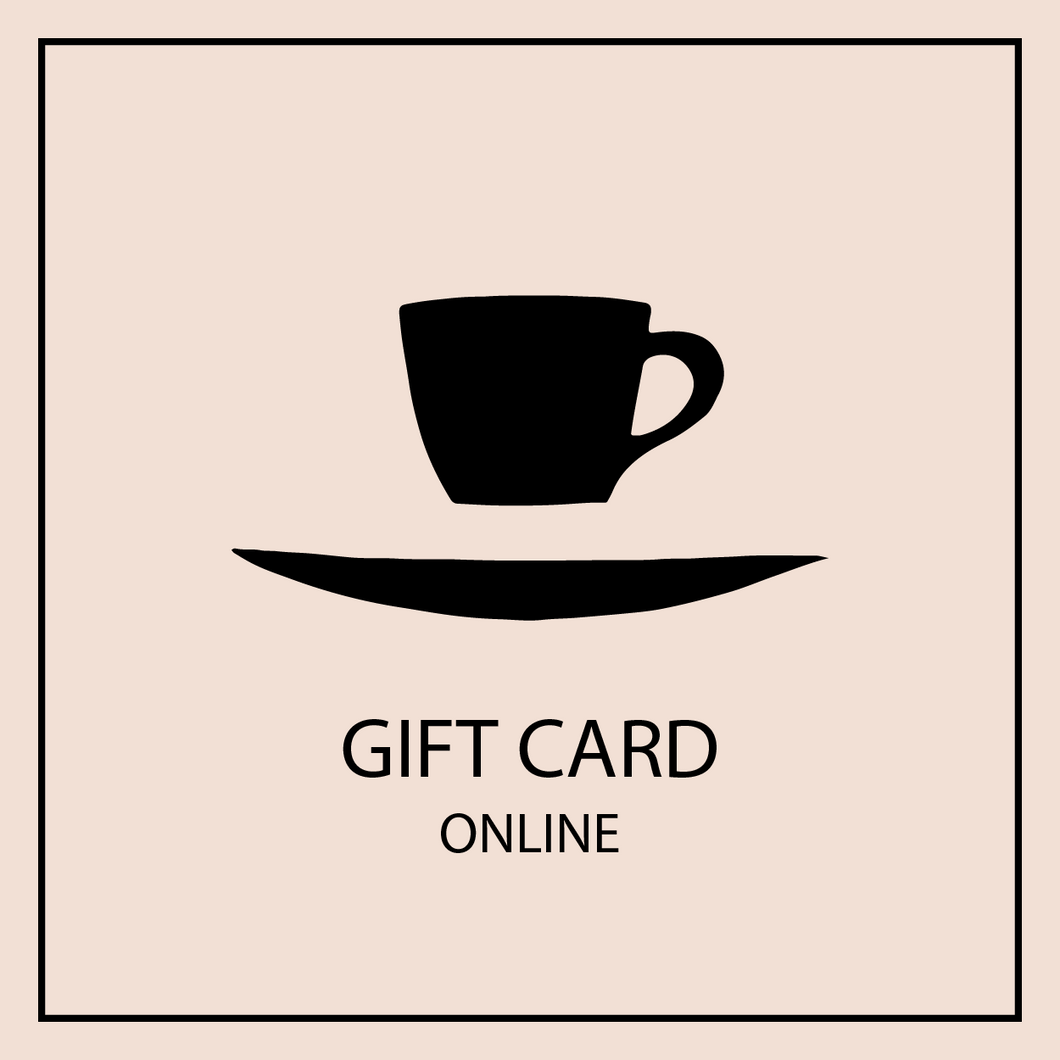 Ninth Street Espresso Floating Cup and Saucer logo with online gift card avatar.