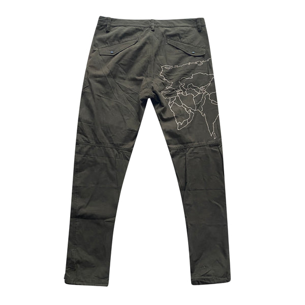 Maharishi World Map Trousers - XL