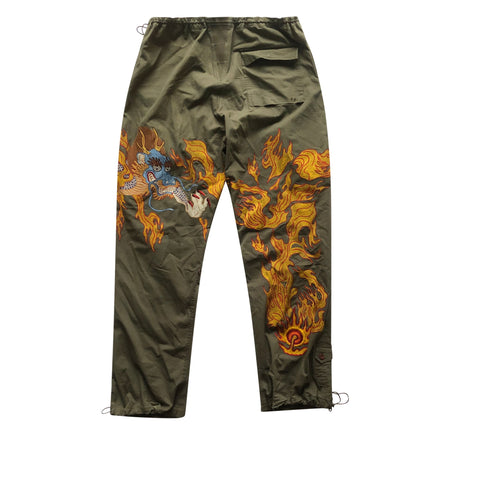 Maharishi Embroidered Fire Dragon Snopants - XL