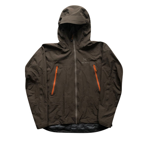 Arcteryx Brown Beta LT Jacket - Large