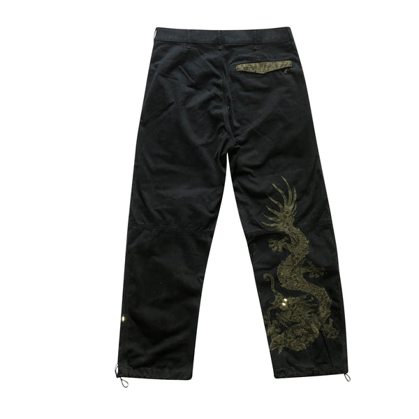 Maharishi Embroidered Dragon Snopants - Medium