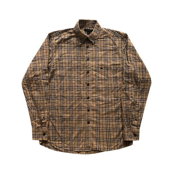 Burberry Nova Check Shirt Long Sleeve - Small