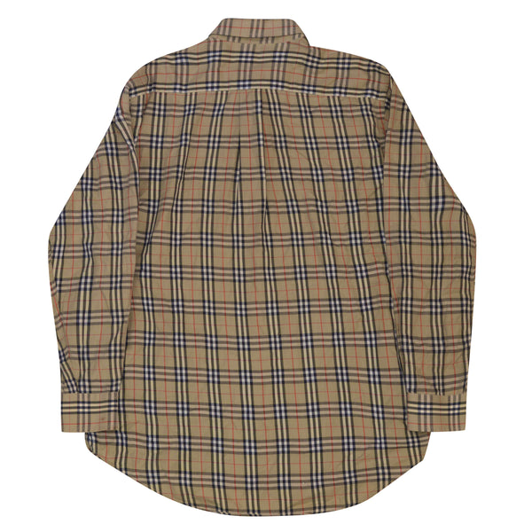Burberry Nova Check Shirt Long Sleeve - Large
