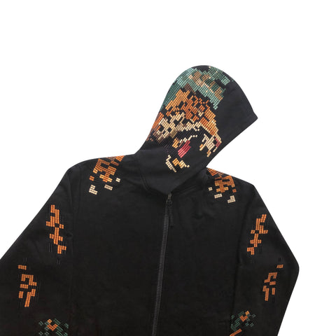 Maharishi Embroidered Tiger Hoodie - XL