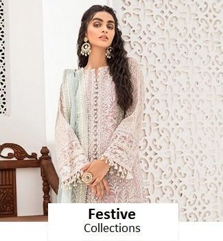 Celebrate your festive events with our wide range of fancy collections on Organza, Chiffon, Cotton Net, etc whether its Eid or family wedding. We had it all from the likes of Maria B, Zainab Chottani, Sobia Nazir, etc