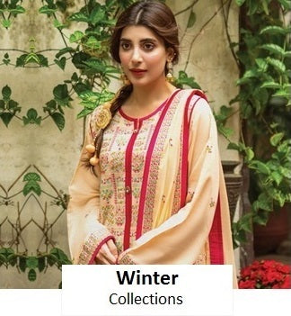 Its too cold!! No Worries we have the complete range to make you feel warm and cozy. Choose from our wide range of Linen, Khaddar, Karandi from brands like Anaya by Kiran Chaudhry, Saadia Asad, Crimson, Baroque, etc