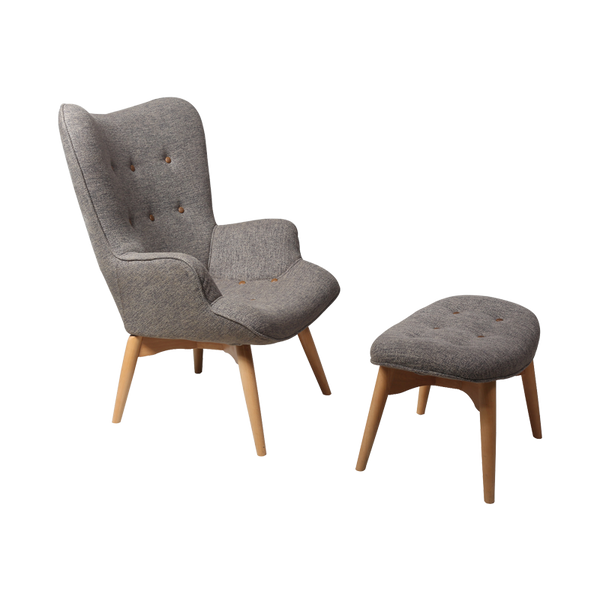 Featherston Chair with Ottoman