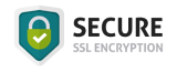Logo of Secure SSL encryption