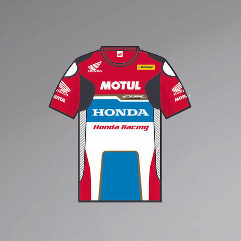 New Official Honda John McGuinness  Replica Leathers T'Shirt