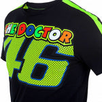 Official Valentino Rossi 46 Black T'Shirt - VRMTS 260204