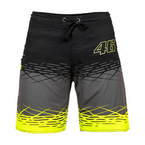 New Official Valentino Rossi VR46 Board Shorts  -  VRMSS 209003