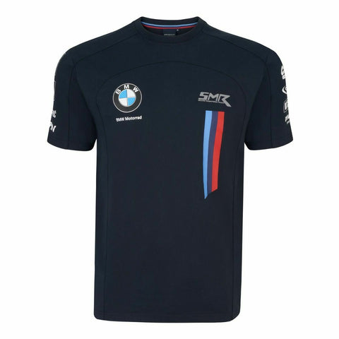 Official WSBK BMW MOTORRAD Kid's Blue Team T shirt - 20BMW-SBK-KCT