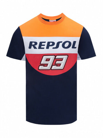 Marc Marquez 93 Official Repsol Honda T Shirt - 18 38503