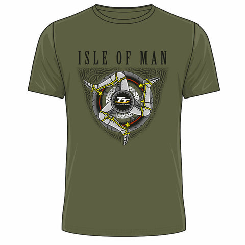 Official 2020 Isle of Man TT Races Green Legs T'Shirt - 20ATS18MG