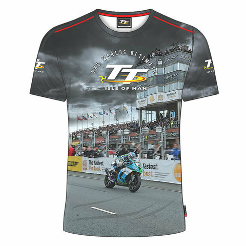 Official Isle of Man TT Races All Over Print T'Shirt  - 20AOP1