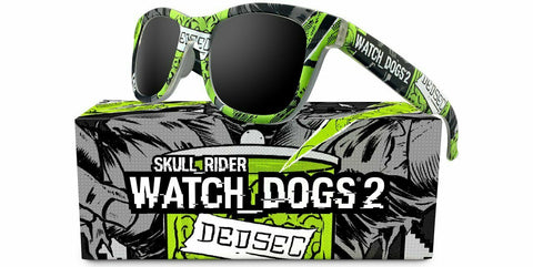 "New Skull Rider  ""Watch Dogs 2""  Sunglasses"
