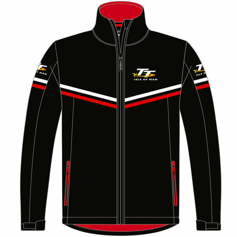 Isle of Man TT Races Official  Soft Shell Jacket - 18AJSS1