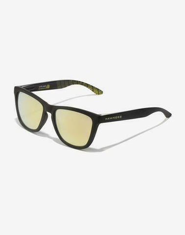 HAWKERS WARWICK  Black/Yellow VR46 Riders Acadamy Sunglasses - 436579 112905