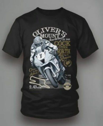 Official  Olivers Mount Cock of the North T Shirt