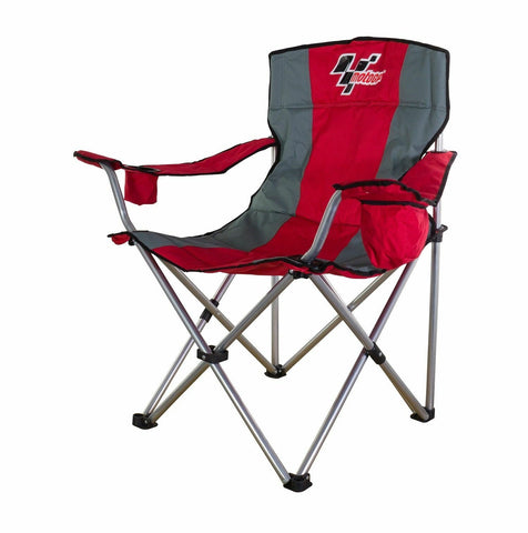 MOTOGP  Red/Grey DELUXE EVENT FOLDING CHAIR .