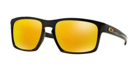 New Official VR46 OAKLEY SLIVER  VR46 Polished Black | Fire Iridium