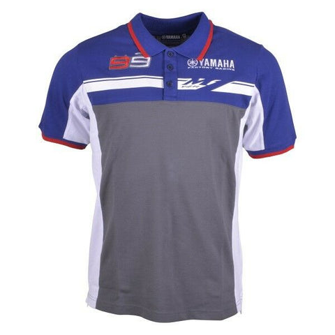 New Official Jorge Lorenzo Yamaha Polo Shirt - 14 17001