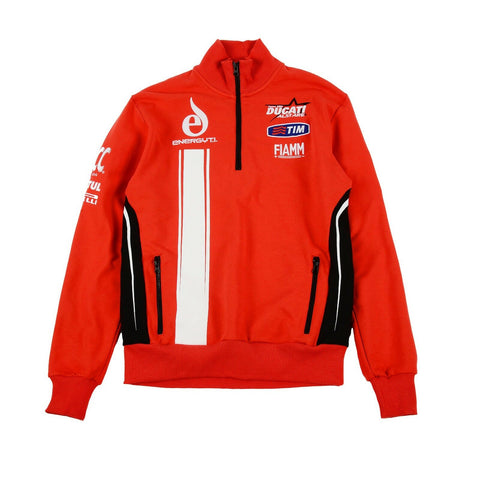 New Official Team Alstare Ducati Red  Kids Zip Up Fleece
