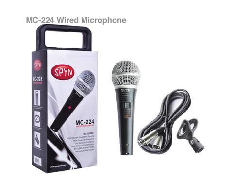 Spyn MC224 Wired Microphone