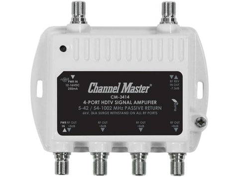 Channel Master 4-Port HDTV Signal Amplifier