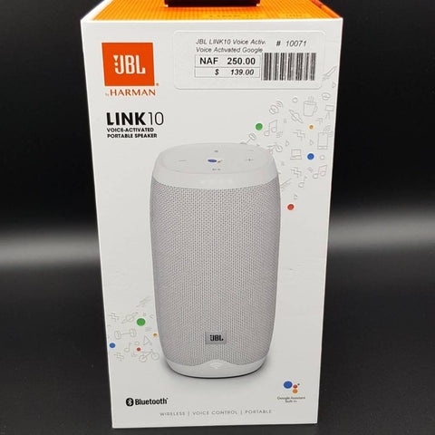 JBL LINK10 Voice Activated Google