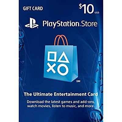 PSN $10 Network Card