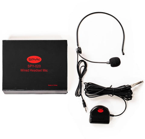 Spyn 020 Wired Headset Microphone