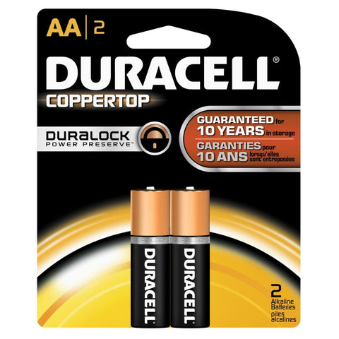 Duracell AAX2 BATTERY