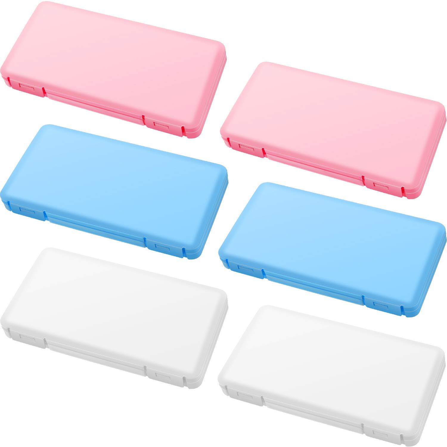 4 Pieces Portable Plastic Storage Boxes with Lids