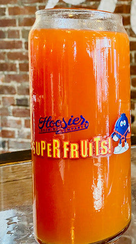 16oz Can Glass: Super Fruits 1.0