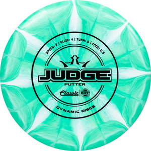 Dynamic Discs Classic Line Hard Burst Judge